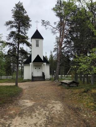 Sevettijärven kirkko blogiin